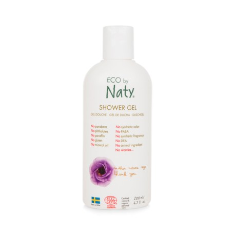 Gel de ducha ECO 200ml Naty