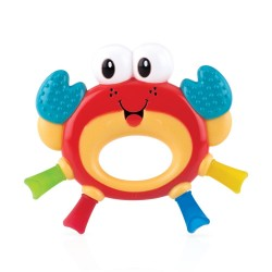 Mordedor texturas: cangrejo - 3m+ Hard/Soft Teether  NUBY