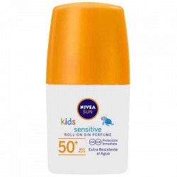 Nivea Roll-On Solar Para Niños Sensitive Protege & Juega F50. 50 Ml.