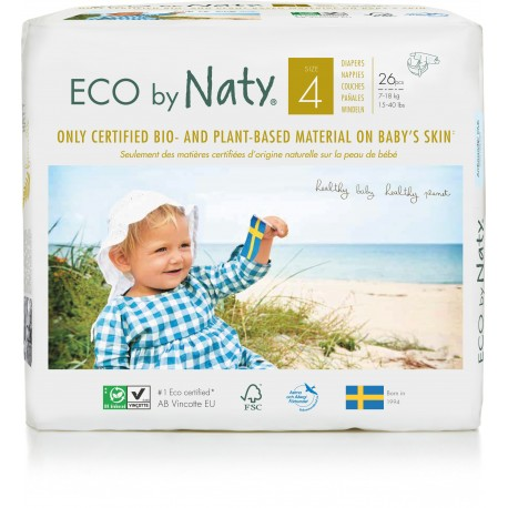 Pañales Naty T4 Maxi 26 uds