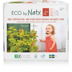 Pañales Naty T4 Maxi+ 24 uds