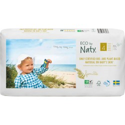 Pañales Naty T4 Eco pack 44 uds