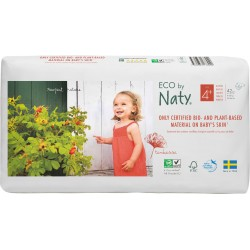 Pañales Naty T4 Maxi Eco pack 42 uds