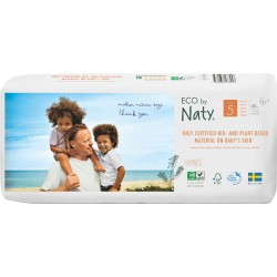 Pañales Naty T5 Junior Eco pack 40 uds