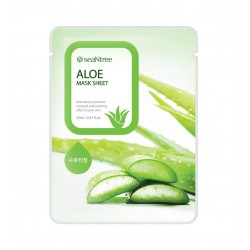 Mascarilla Facial a base de Aloe Vera - Seantree