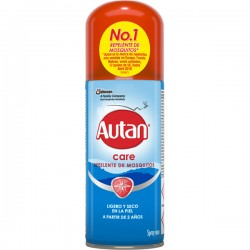 AUTAN Care repelente de mosquitos a partir de 2 años spray 100 ml
