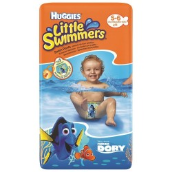 Bañadores desechables  Huggies® Little Swimmers® Talla 5/6 (12-18 kg) 11 Uds