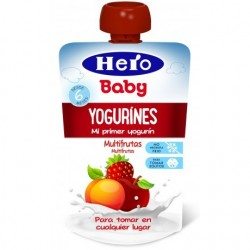 BOLSITA YOGURINES MULTIFRUTAS 80GR HERO