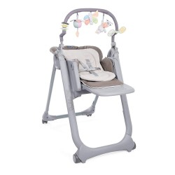 Chicco Polly Magic Relax - Trona/hamaca compacta con barra de juegos,