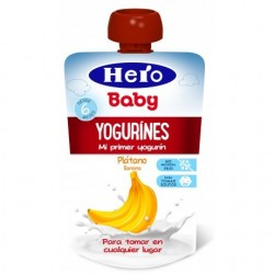 BOLSITA YOGURINES PLÁTANO 80GR HERO