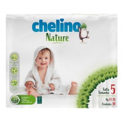 Pañales Chelino Nature T5 - (13-18 kg) - 30 unidades