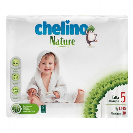 Pañales Chelino Nature T5 30 Uds