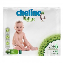 Pañales Chelino Nature T6 27 Uds
