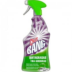 LIMPIADOR SPRAY QUITAGRASA Y BRILLO CILLIT BANG 750ML