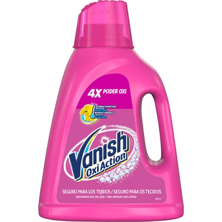 QUITAMANCHAS VANISH OXI ACTION EN GEL PINK 1,8L
