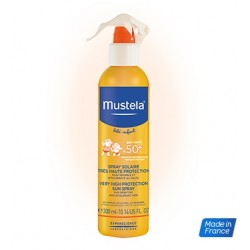 SPRAY PROTECTOR SOLAR SPF50+ 300 ML 0M+ MUSTELA