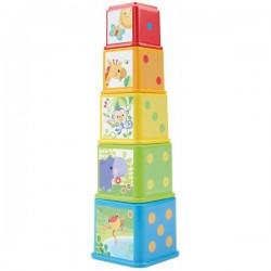 BLOQUES APILA Y DESCUBRE 6M+ FISHER-PRICE
