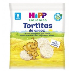 7x TORTITAS DE ARROZ BIOLOGICAS HIPP