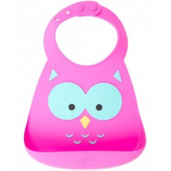 BABERO SILICONA OWL MAKE MY DAY