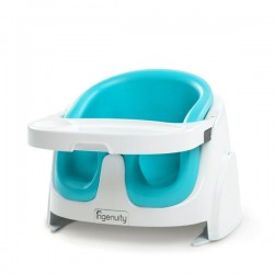 ASIENTO BABY BASE TEAL AZUL +4M INGENUITY DE BRIGHT STARTS