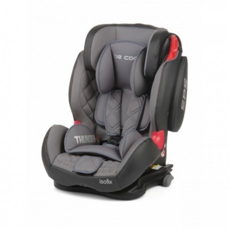 Siilas de coche thunder isofix moonlight grupo 1 2 3 be for Sillas coche bebe isofix grupo 1 2 3