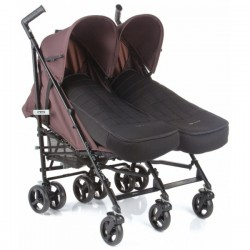SILLA DE PASEO GEMELAR CLUB TWIN BE COOL 0M+