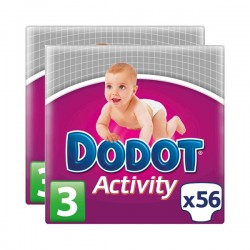 DODOT ACTIVITY T3 C/112 Unidades DE 5 a 10 KG