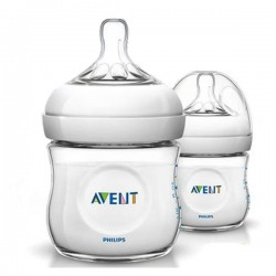 PACK 2 BIBERONES NATURAL 125 ML PHILIPS AVENT