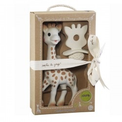 SOPHIE LA GIRAFE+CHUPETE SO´PURE 100% HEVEA NATURAL