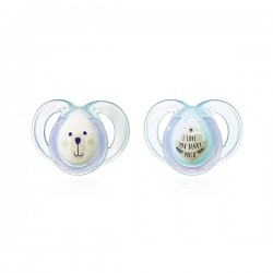 Chupetes 6-18m Toppee Tippee Night Time x2 V.3