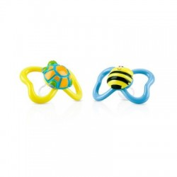 Chupete oval 3D Paci-Pals™ - 18m+ NUBY