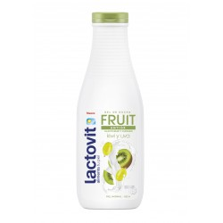 Gel de Baño LACTOVIT FRUIT ANTIOX Kiwi y Uva 600ml