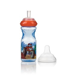 Taza antigoteo Sport Sipper estampada 300ml 9m+ Nuby