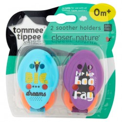2x SUJETACHUPETES TOMMEE TIPPEE CLOSER NATURE- BIG DREAMS