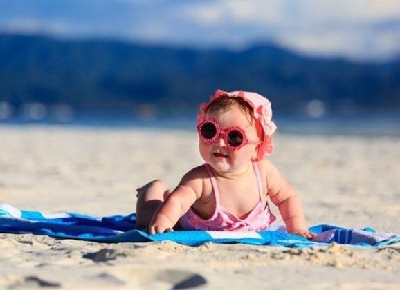 Protege los ojos de tu bebé del sol